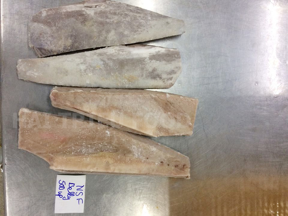 (English) Frozen Yellowfin Tuna Belly